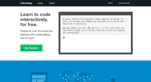 Learn to code - Codecademy